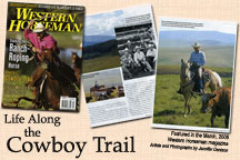 Western Horseman Magazine Features Lucasia Ranch - Click to enlarge