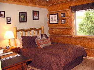 Guest cabin bedroom